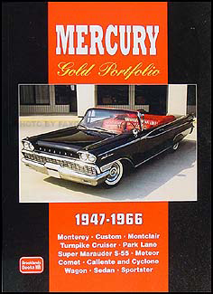 1957 Mercury Reprint Owner's Manual 57