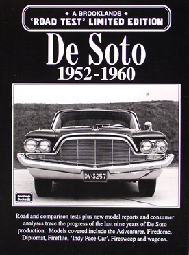 1952-1960 'Road Test' De Soto: 39 Magazine Articles