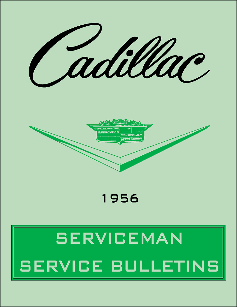 1956 Cadillac Repair Shop Manual Reprint