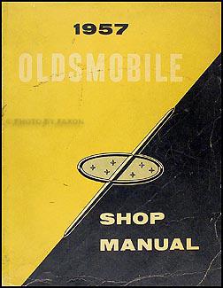 1957 Oldsmobile Repair Shop Manual Original