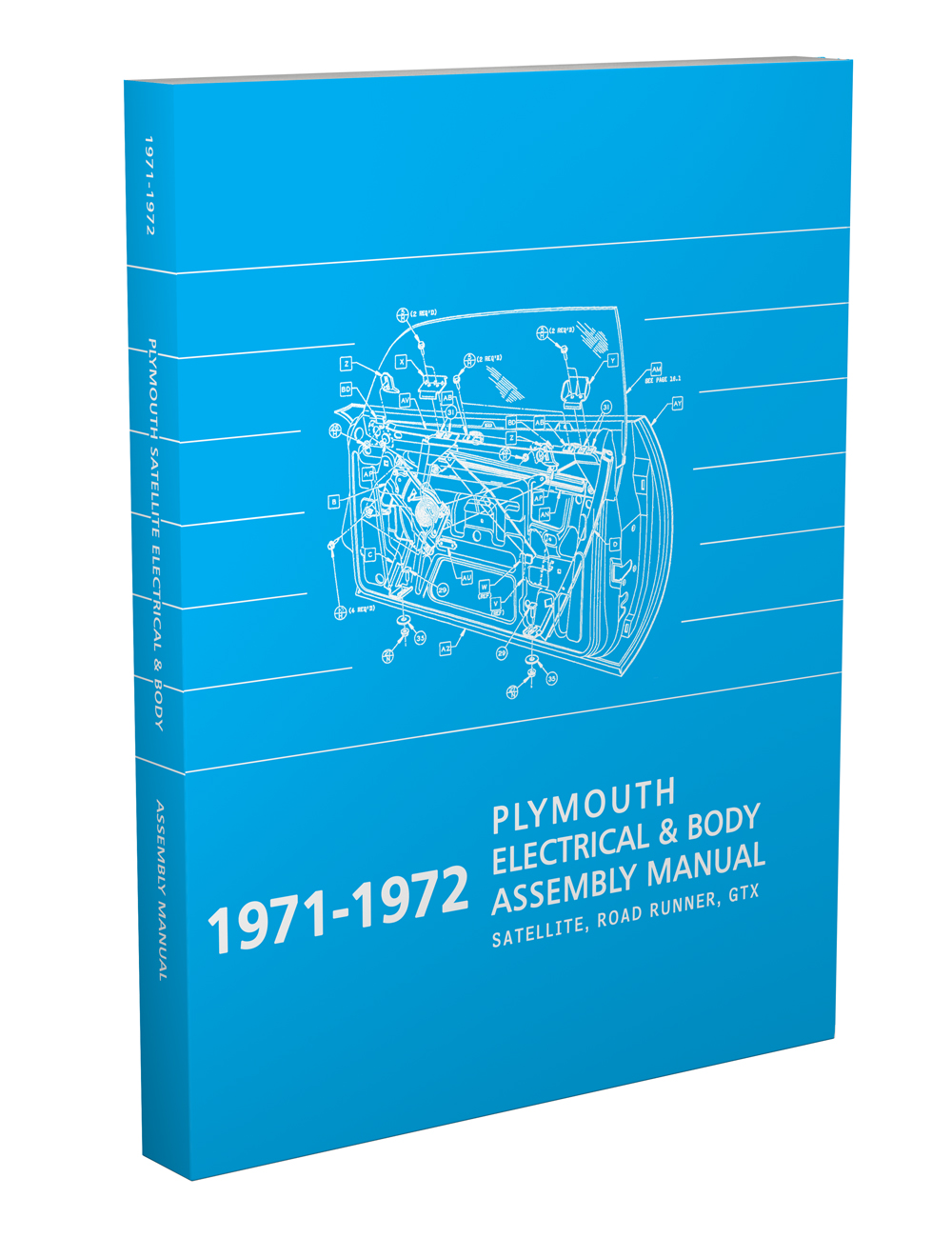 1967 Chrysler Body Assembly Manual Exploded Views of Parts Torque Specifications