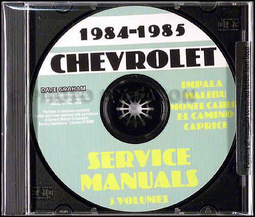 impala ss free pdf repair manual