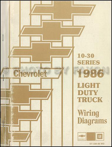 1986 chevy ck wiring diagram pickup truck suburban blazer silverado