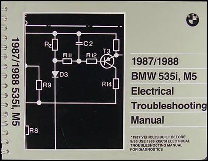 Bmw 535i M5. 1987-1988 BMW 535i and M5