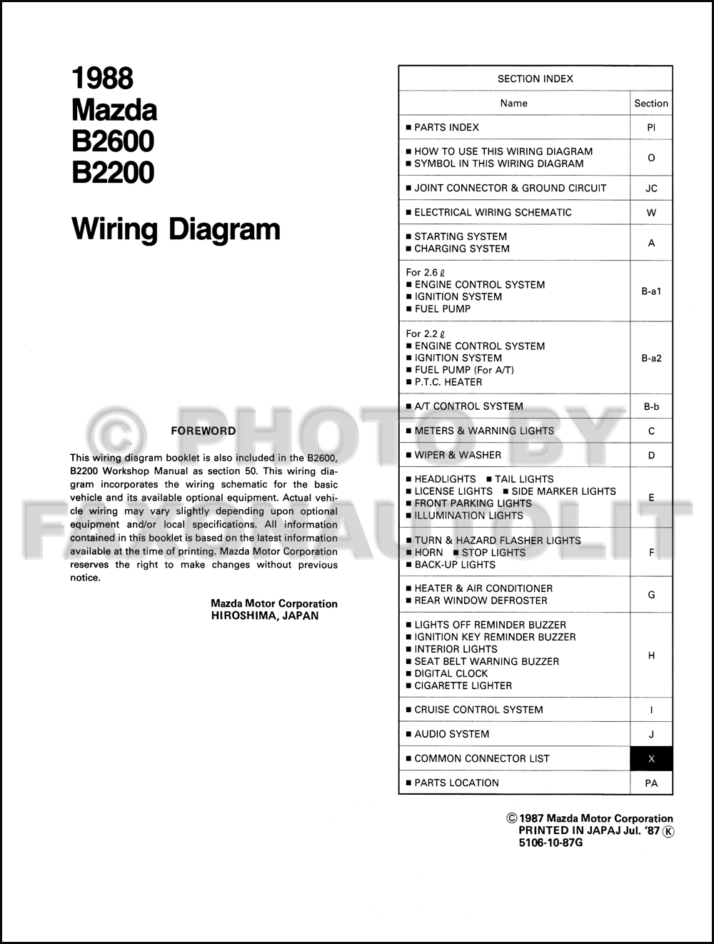 mazda b2200 radio wiring diagram mazda image 1989 mazda b2200 radio wiring diagram wiring diagram on mazda b2200 radio wiring diagram