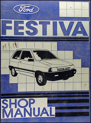 Ford Festiva 1989. 1989 Ford Festiva Repair Shop