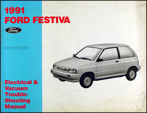 Ford Festiva Trio. 1991 Ford Festiva Original