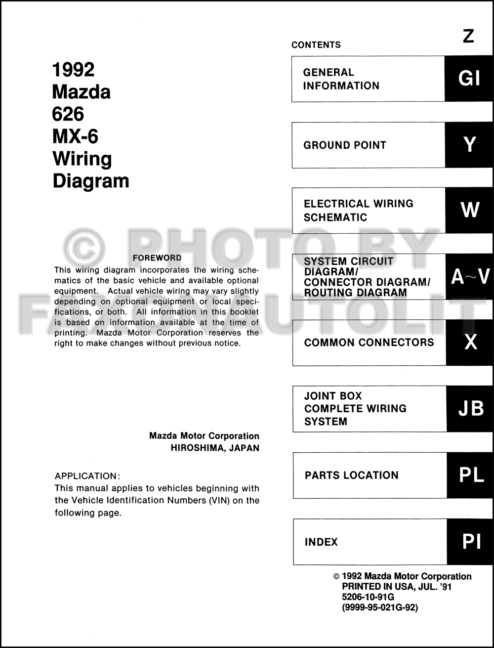 Best Collections of Diagram Mazda 6 Wiring Diagram - Millions ...