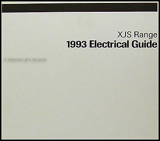 jaguar xjs service manuals shop owner maintenance and repair 1993 jaguar xj s electrical guide wiring diagram original