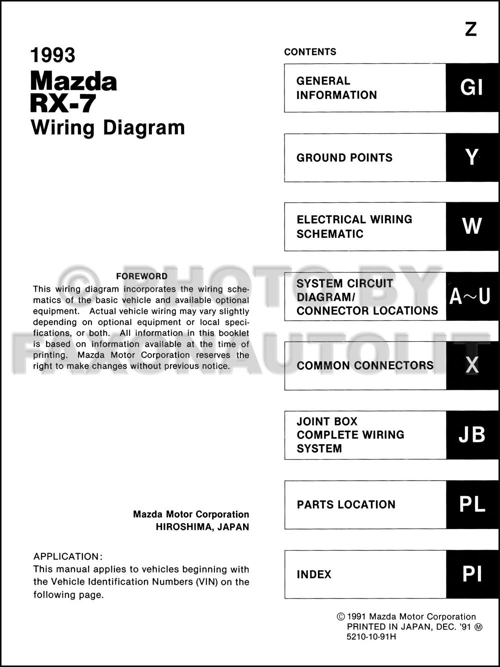 1993 rx7 wiring diagram 1993 rx7 wiring diagram also 1993 mazda 1993 rx7 wiring diagram 1993 wiring diagrams for car or truck
