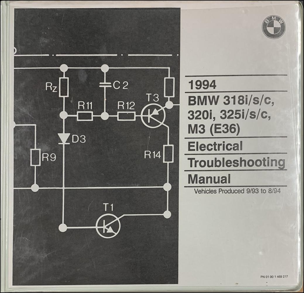 Bmw E36 Wiring Diagram Manual