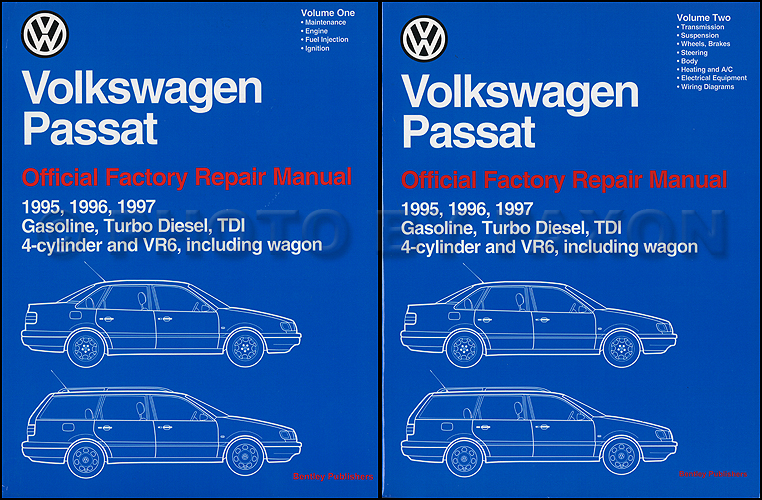 free factory service manual for 2002 passat