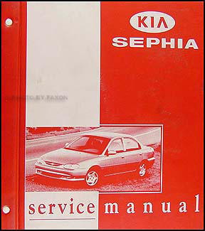 1998-1999 Kia Sephia Repair Shop Manual Original