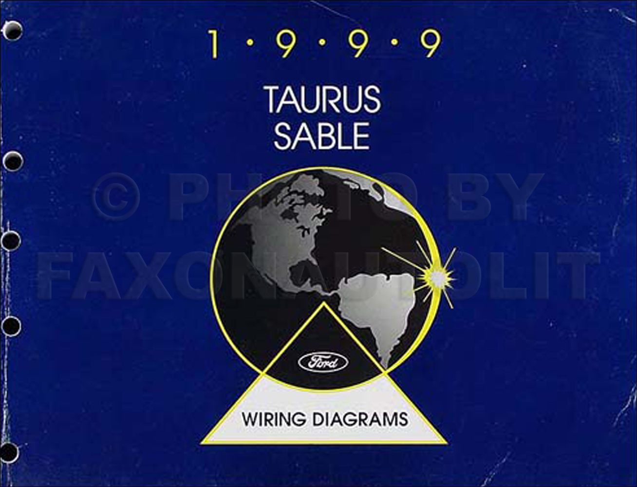 1999 Ford Taurus Mercury Sable Wiring Diagram Manual 99