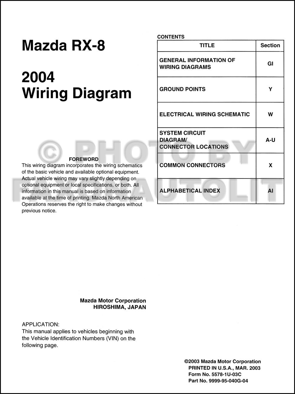 2004 rx 8 wiring diagram workshop manual 2004 2004 mazda rx 8 wiring diagram manual original rx8 on 2004 rx 8 wiring diagram workshop