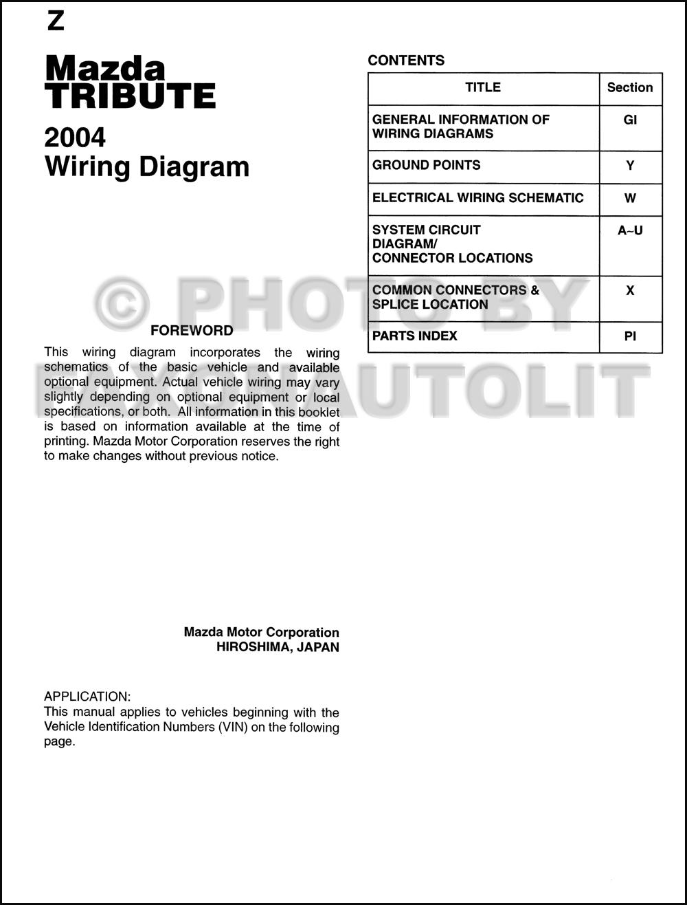 2002 mazda tribute wiring diagram 2002 image 2002 mazda tribute wiring harness 2002 image on 2002 mazda tribute wiring diagram