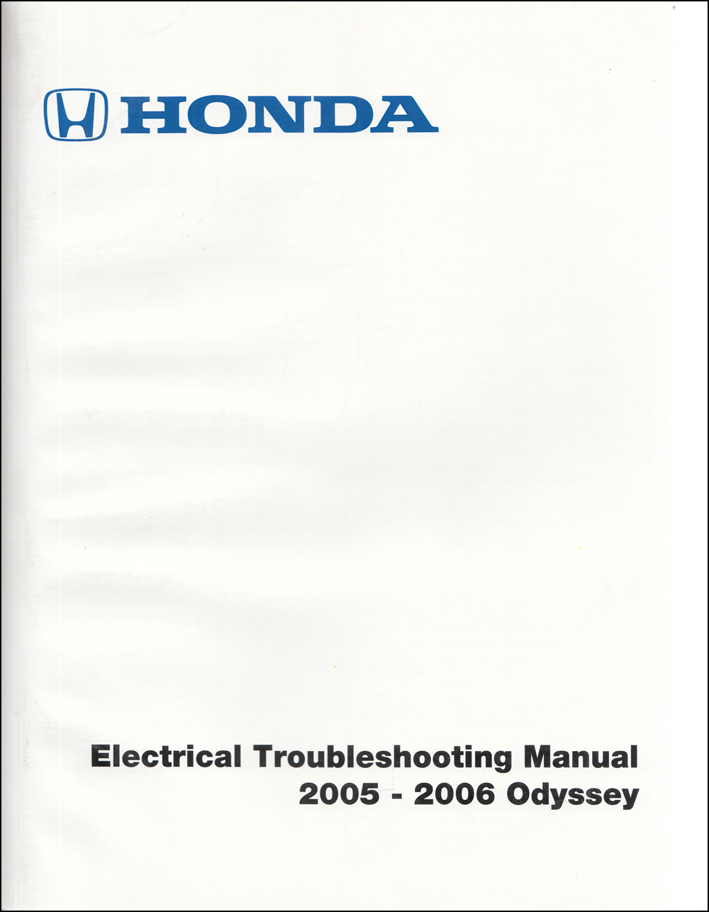 2005 honda odyssey navigation system owners manual original  faxon auto literature
