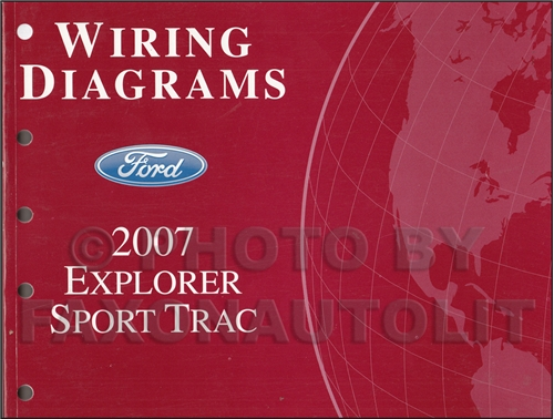ford explorer sport trac service manuals shop owner 2007 ford explorer sport trac wiring diagram manual original