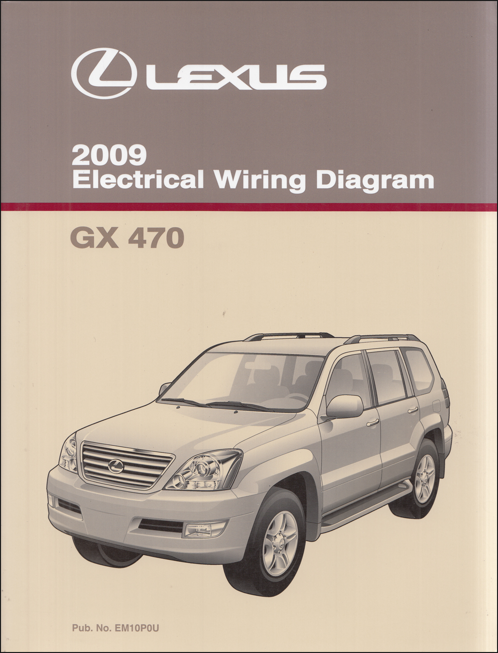 2009 lexus gx 470 wiring diagram manual original  faxon auto literature