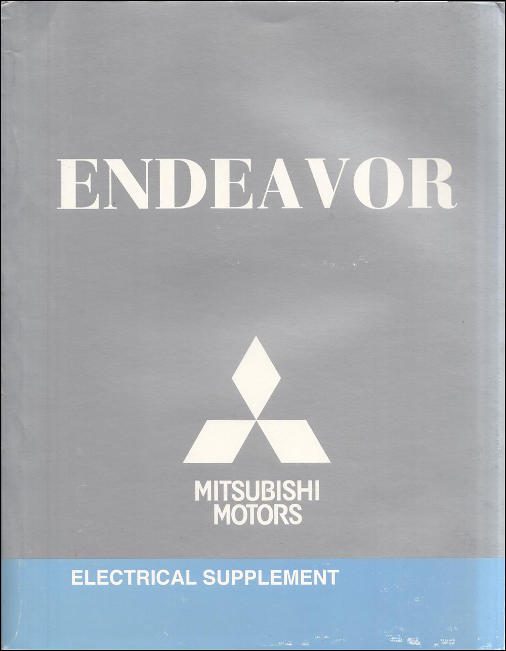2010 Mitsubishi Endeavor Wiring Diagram Manual Original