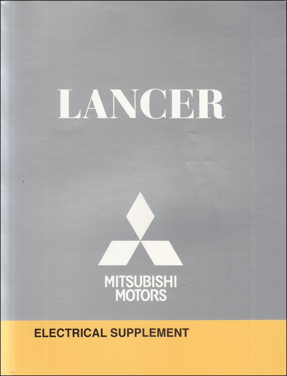 2010 Mitsubishi Lancer Wiring Diagram Manual Original