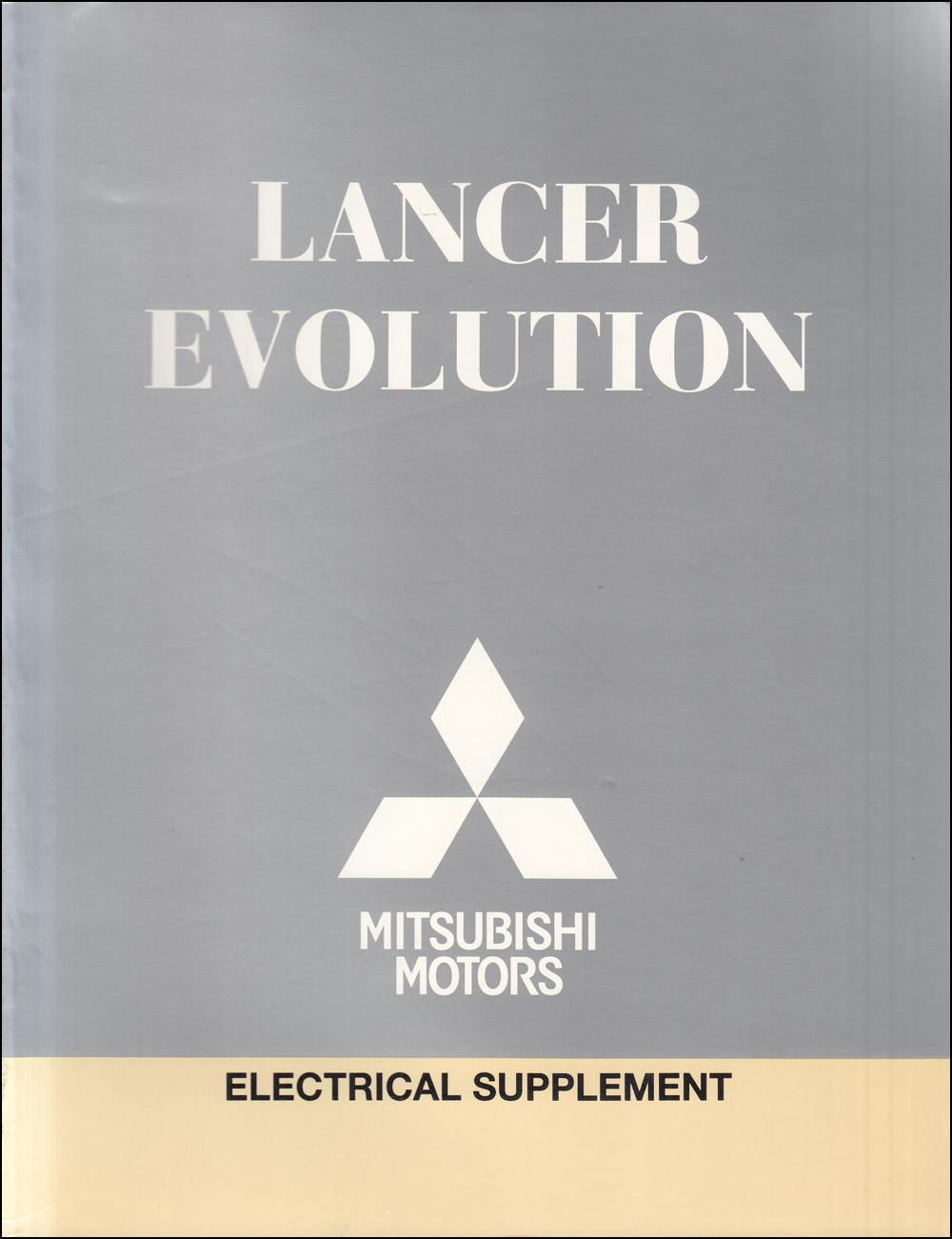 2011 Mitsubishi Lancer Evolution Wiring Diagram Manual Original
