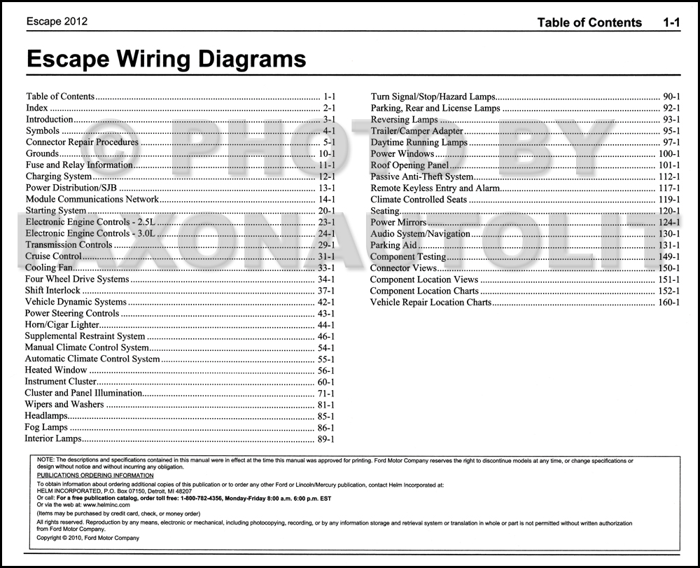 wiring diagram ford escape the wiring diagram 2012 ford escape gas wiring diagram manual original wiring diagram