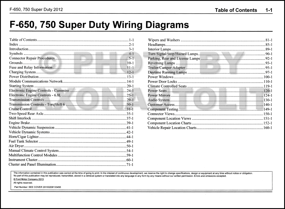 2012 ford f750 fuse diagram 2012 image wiring diagram 2012 ford f 650 and f 750 super duty truck wiring diagram manual on 2012 ford