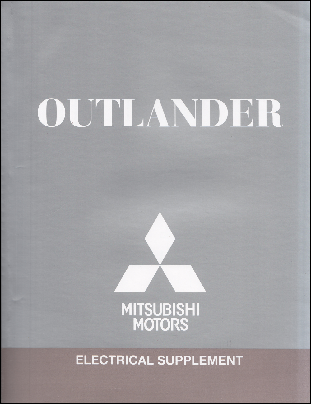 2012 Mitsubishi Outlander Wiring Diagram Manual Original