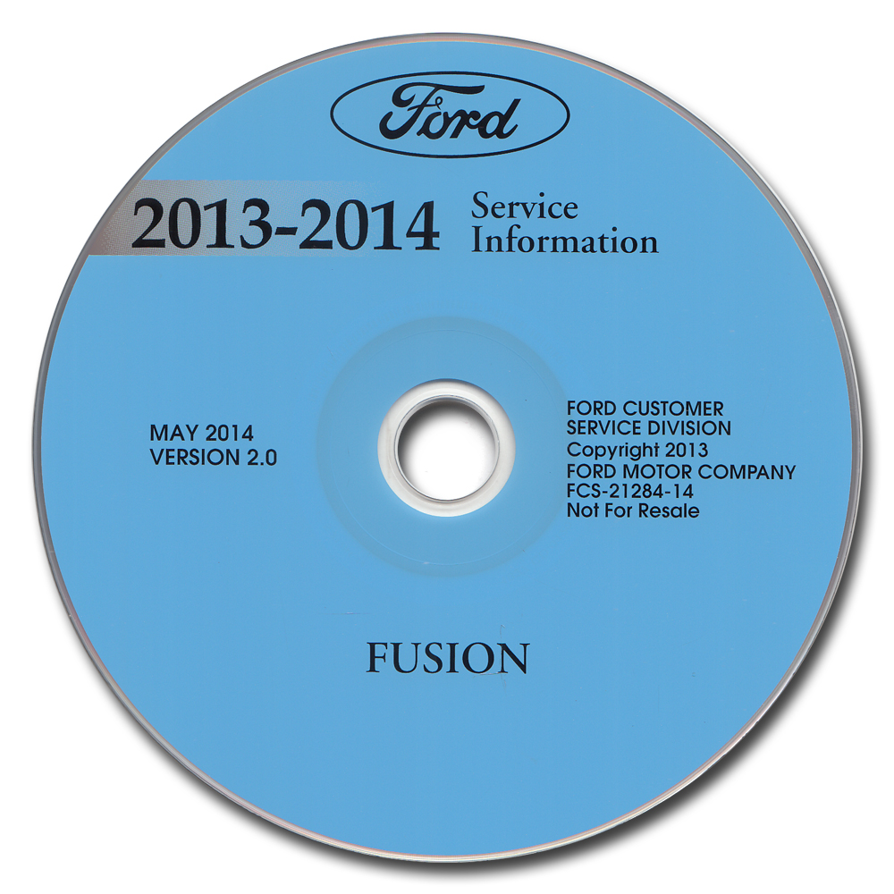 2014 Ford Fusion Gas Powered Owner U0026 39 S Manual Package With Case  U0026 Pamphlets Original