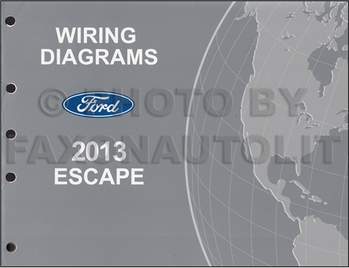 ford escape service manuals shop owner maintenance and repair 2013 ford escape wiring diagram manual original