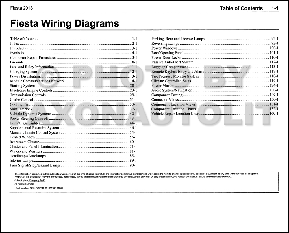 ford fiesta wiring diagram 2009 solidfonts ford wiring diagrams carsut understand cars and drive better