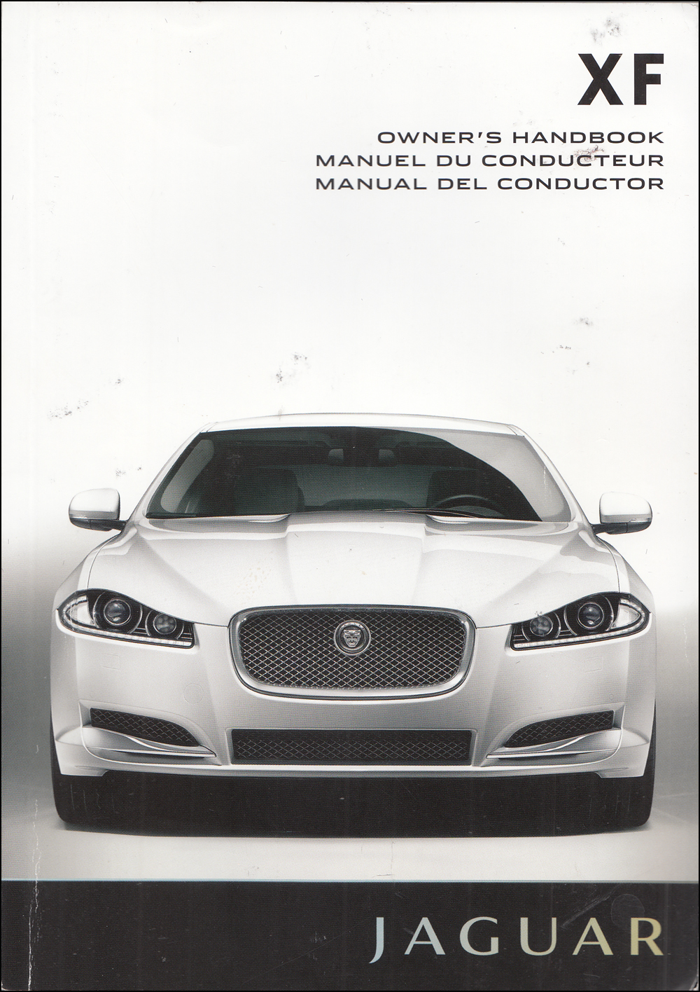 2013 Jaguar XF Owners Manual Original
