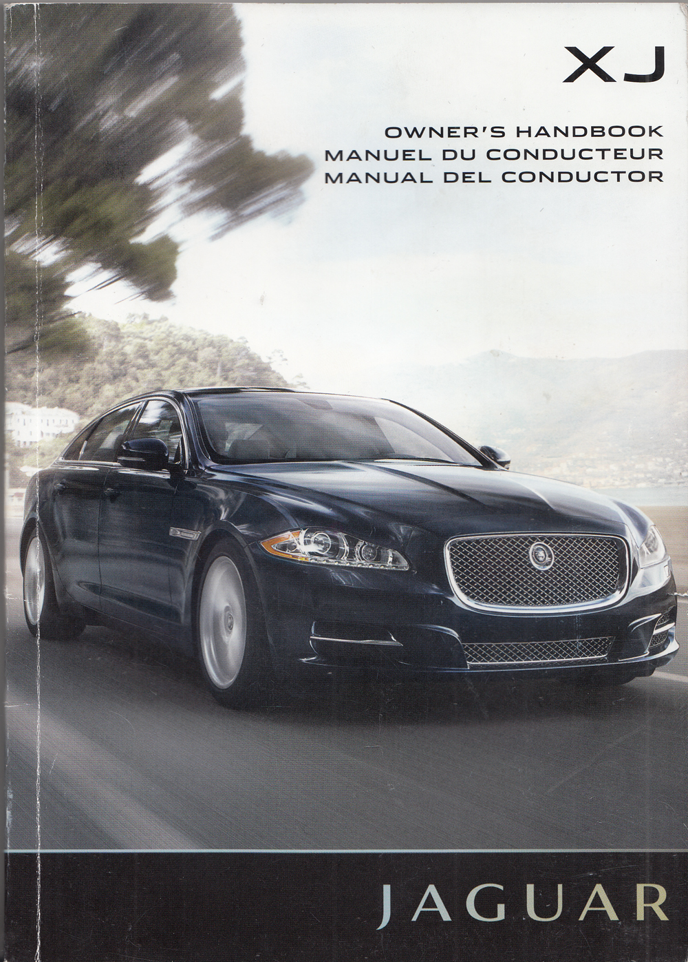 2013 Jaguar XJ Owners Manual Original