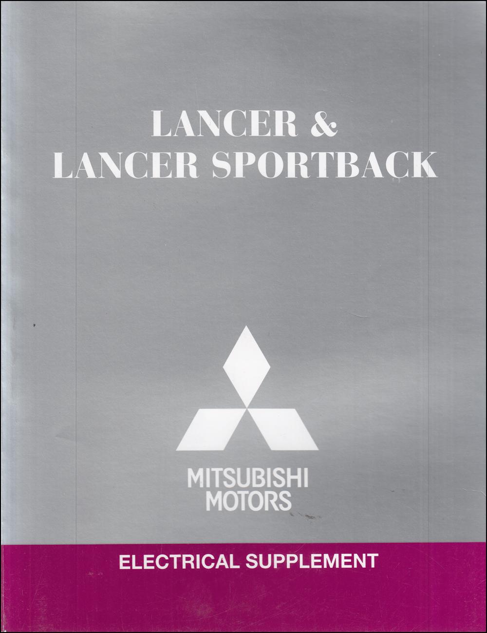 2014 Mitsubishi Lancer  U0026 Lancer Sportback Wiring Diagram