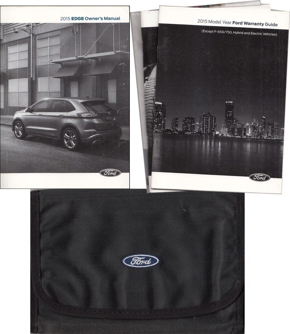2015 Ford Edge Owner's Manual Package with Case Original