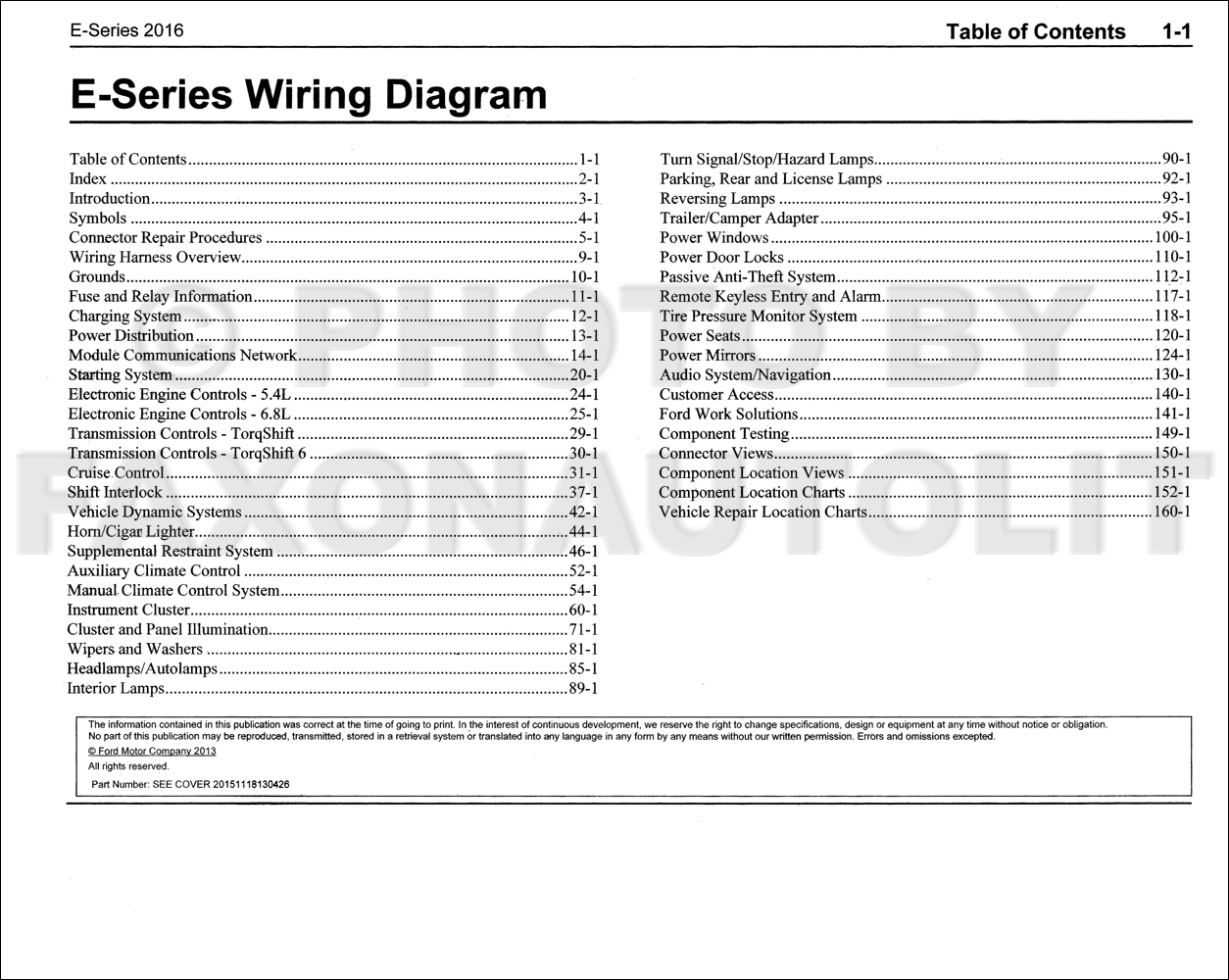e wiring diagram 2016 ford e 350 and e 450 wiring diagram manual original