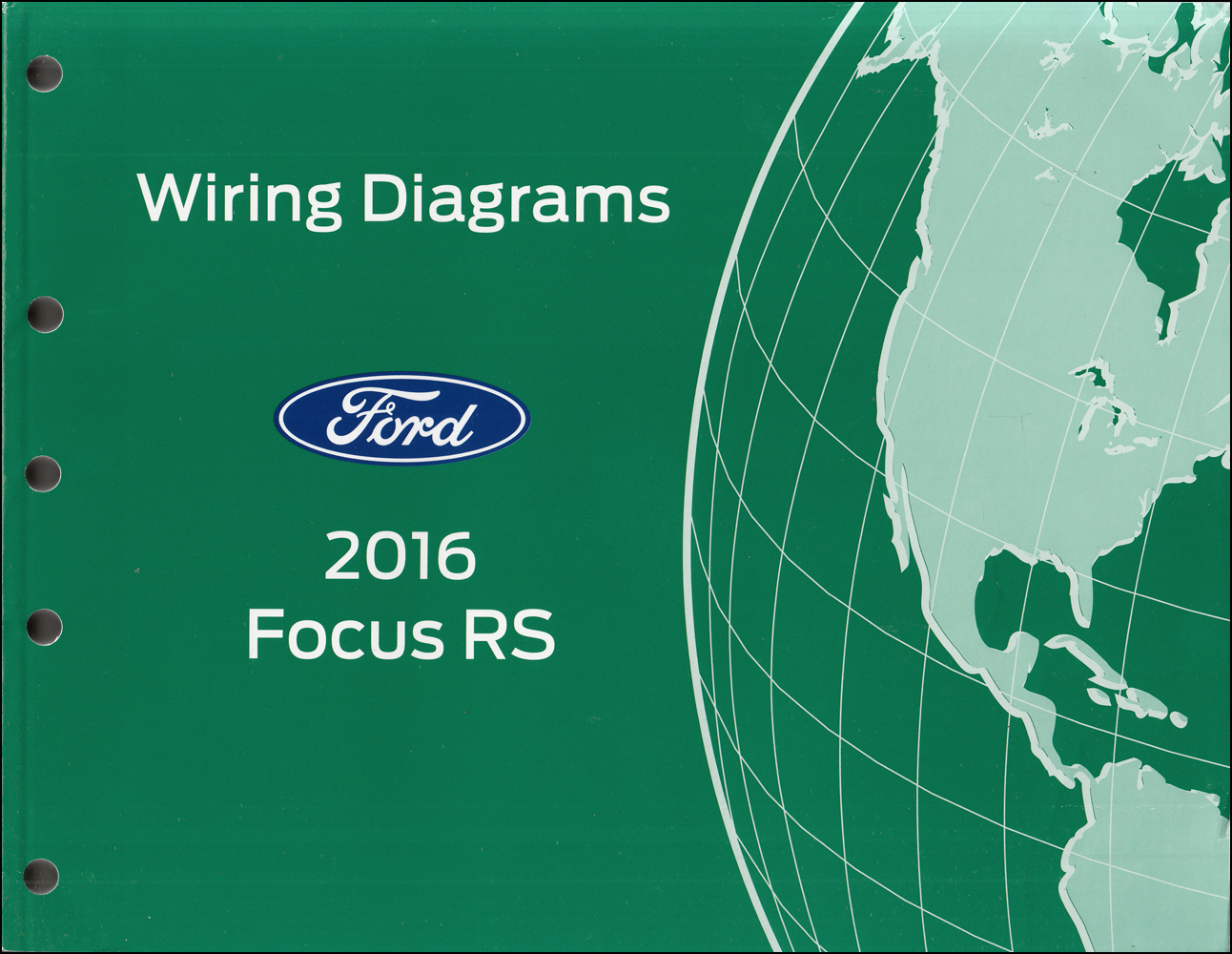 2016 Ford Focus RS Wiring Diagram Manual Original