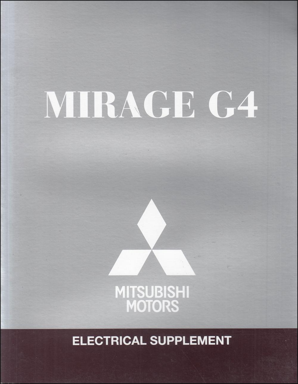 2017 Mitsubishi Mirage G4 Wiring Diagram Manual Original