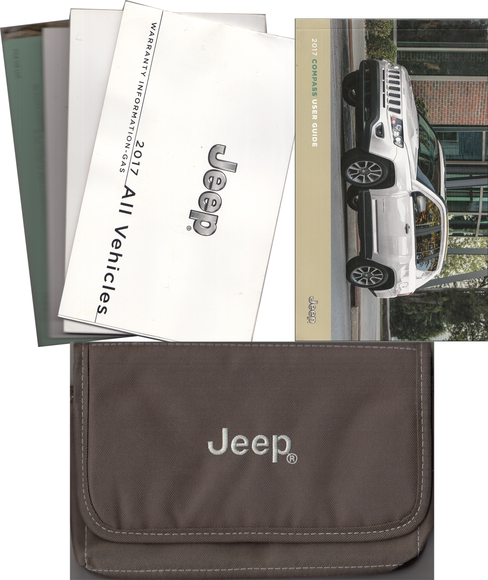 2018 Jeep Compass User Guide Owner U0026 39 S Manual Package Original Manual Guide