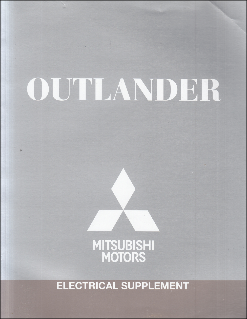 2017 Mitsubishi Outlander Wiring Diagram Manual Original