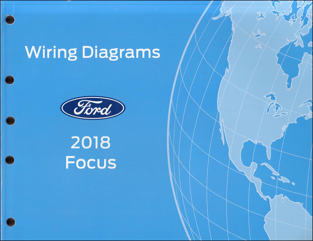 2018 Ford Focus Wiring Diagram Manual Original Gasoline Models