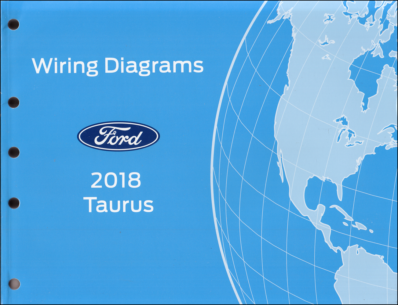 2018 Ford Taurus Wiring Diagram Manual Original
