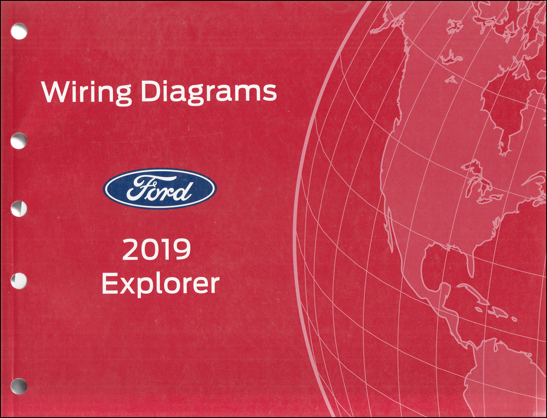 2019 Ford Explorer Repair Shop Manual On Cd