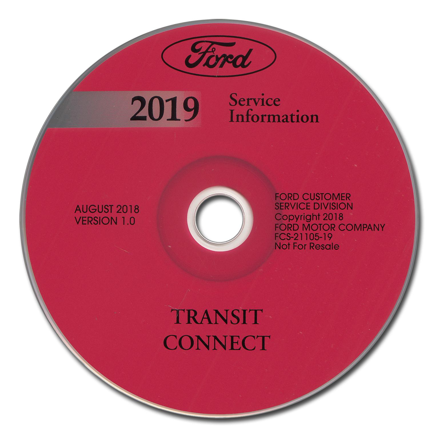 2019 Ford Transit Connect Wiring Diagram Manual Original
