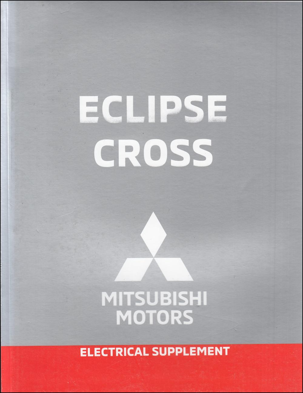 2019 Mitsubishi Eclipse Cross Wiring Diagram Manual Original