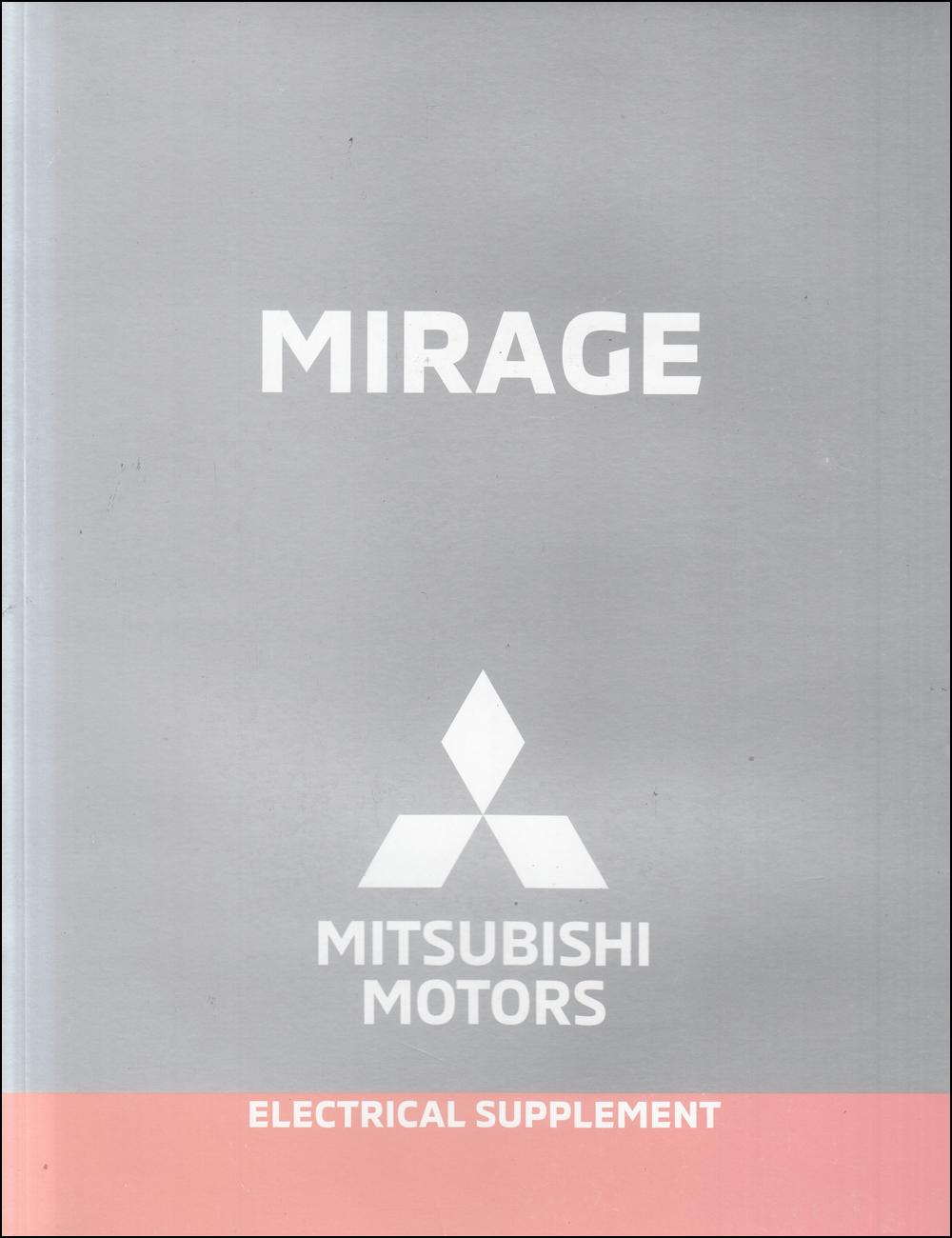 2019 Mitsubishi Mirage Wiring Diagram Manual Original