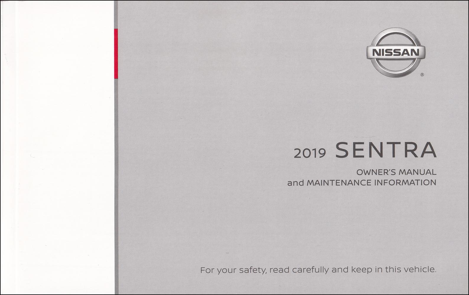 New 2019 Nissan Sentra Manual Guide