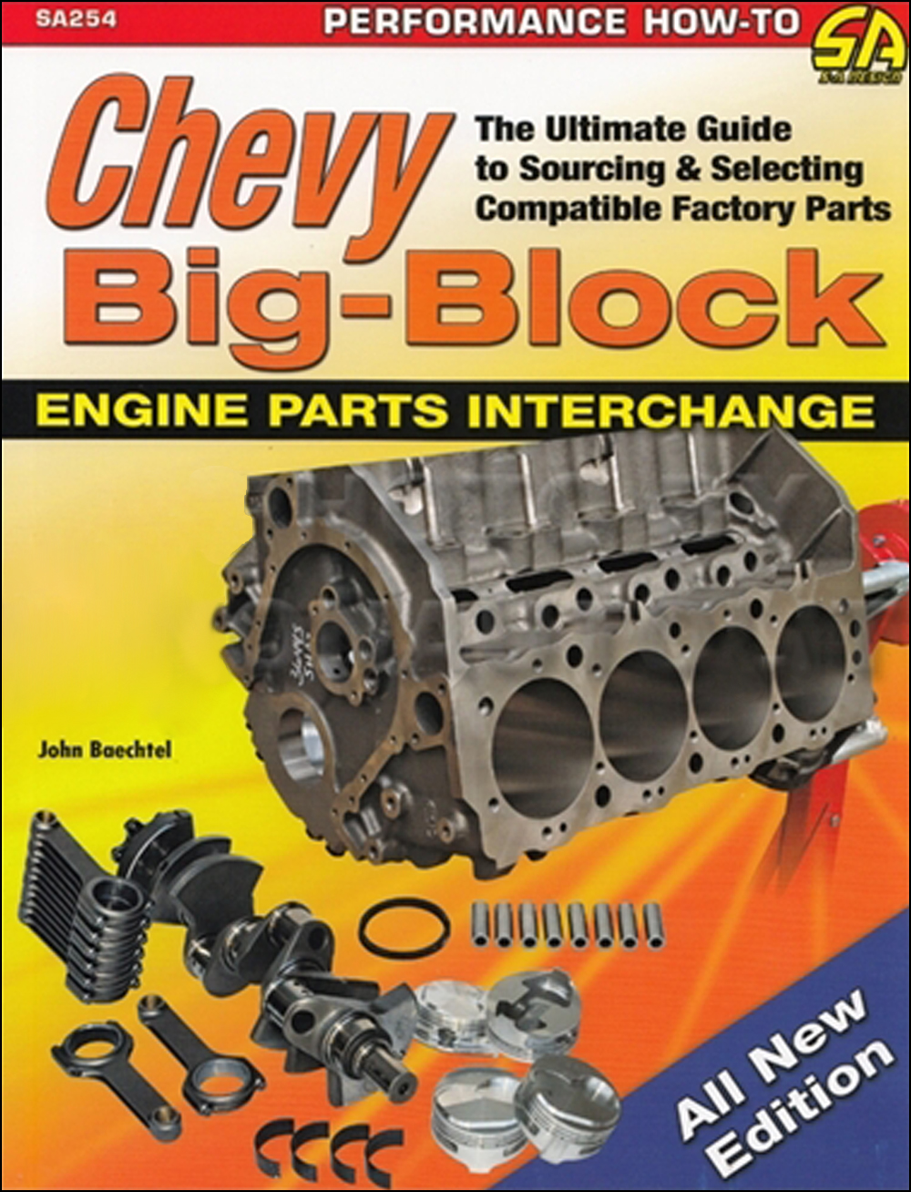 1965-2000 Chevy Big Block Engine Parts Interchange Book 366 396 402 427 454 502 572