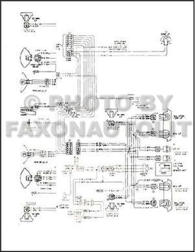 1978 corvette original foldout wiring diagram 78 chevy chevrolet item specifics